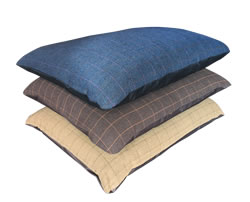 LB-1005B TWEED CUSHION ASST COLOURS 67x94cm