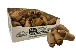 LB-247 MINI SAUSAGE ROLLS APPROX 8 CM 1X70 PER DISPLAY