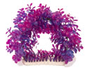 "FRF-537 11.5"" PURPLE TUNNEL PLANT & BASE"