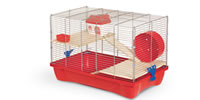 HAMSTER-11/W HAMSTER CAGE 58x32x38cm