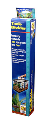 PN-TDLELBX TANK DIVIDER FOR 56 TO 75L AQUARIUMS